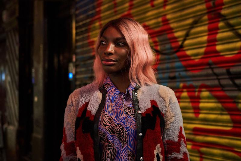 Michaela Coel in character as Arabella in I May Destroy You (Photo: BBC/Various Artists Ltd and FALKNA/Natalie Seery)
