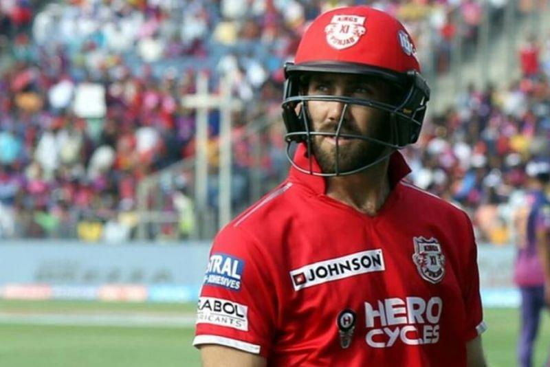 Glenn Maxwell's cumulative score in IPL 2020 is yet to reach double figures (Image Credits: Twitter)