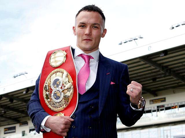 Josh Warrington has signed with Matchroom Boxing: Getty