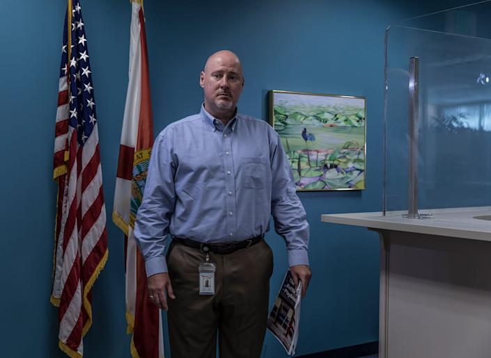 """It's tough to put the genie back in the bottle."" - Brian Corley, supervisor of elections, Pasco County, Florida (Republican) <span class=""copyright"">Christopher Morris—VII for TIME</span>"