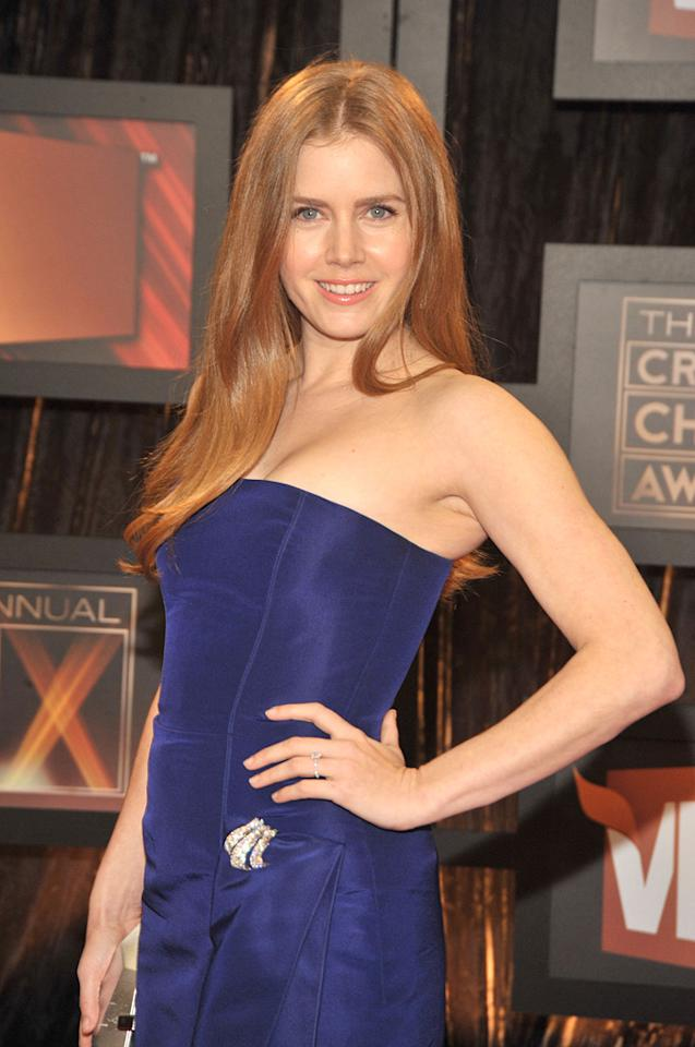 "<a href=""http://movies.yahoo.com/movie/contributor/1800018895"">Amy Adams</a> at the 14th Annual Critics' Choice Awards in Santa Monica - 01/08/2009"