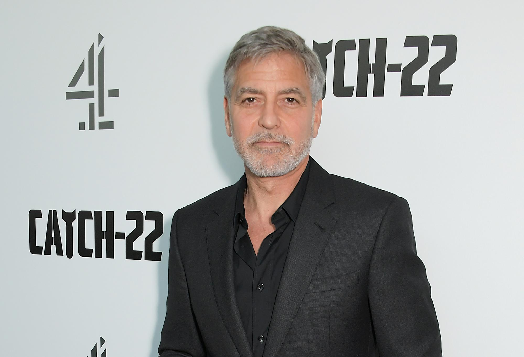 George Clooney says Trump family belongs in the 'dustpan of history' following Capitol attack