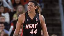 <p>It's not so much that Brian Grant was terrible during his time in South Beach, it's more that he got paid a lot more for his five rebounds and six points a game than he should have. After his first season when he averaged roughly 15 points and nine rebounds a game, Grant really didn't earn his seven-year, $86 million deal.</p> <p>Grant didn't help himself by missing about a third of the games he was signed for — though he was an absolute workhorse through the first four seasons of the deal, appearing in at least 70 games in each.</p> <p><small>Image Credits: Otto Greule Jr / Getty Images</small></p>