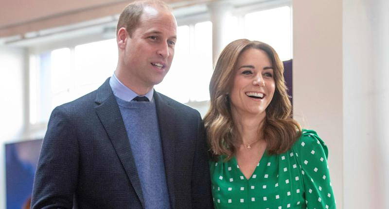 The Duke and Duchess of Cambridge during a visit to Galway. (Photo by PAUL FAITH/AFP via Getty Images)