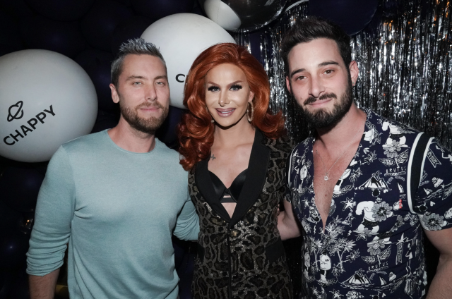 Lance Bass, Trinity the Tuck, Michael Turchin