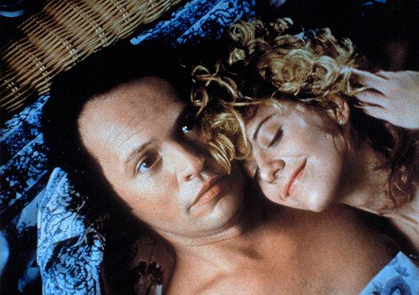 "<p>Love begins with hate: In <a href=""http://www.imdb.com/title/tt0098635/?ref_=fn_al_tt_1"">When Harry Met Sally</a>, Meg Ryan's character Sally can't stand Billy Crystal's character Harry's pompous, overly analytical demeanor and the feeling is mutual. The hatred lasts for a decade until they realize that everything which annoys them about each other is exactly what they can't live without. In real life, that's when anger bubbles over into passion and you realize you love the person despite their flaws.</p>"