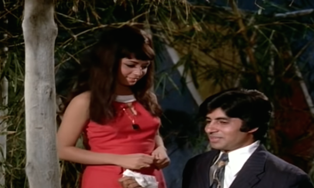 Inspired by the Hollywood classic, The Apartment (1960), Raaste Kaa Patthar has AB playing an ad agency employee whose bachelor pad is hijacked by his colleagues and bosses to carry out their flings. It remains one of the most forgotten pre-Zanjeer Bachchan films where the actor's effortlessness in front of the camera couldn't be missed despite him sharing the screen space with Shatrughan Sinha, who was by then a couple of films older and had the meatier lines in the film.