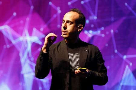 Lior Div, chief executive of U.S.-Israeli cyber security firm Cybereason, speaks during Cyber Week conference in Tel Aviv, Israel