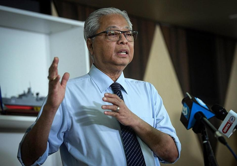 Senior Minister Datuk Seri Ismail Sabri Yaakob said the decision to extend the CMCO period for Labuan was made upon the advice of the Ministry of Health during their daily Nasional Security Council meeting today.  — Bernama pic
