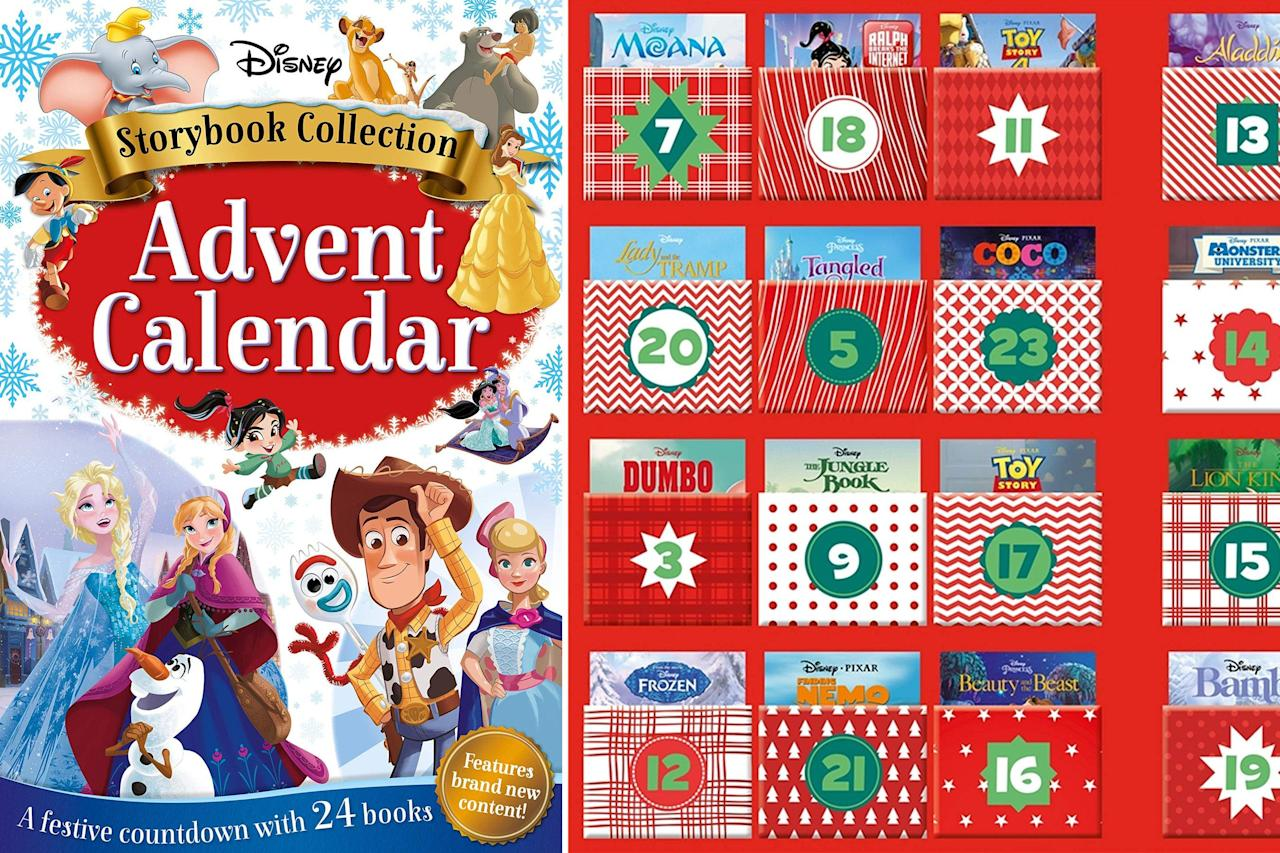 Disney Just Released an Advent Calendar Filled with 24 Books — and
