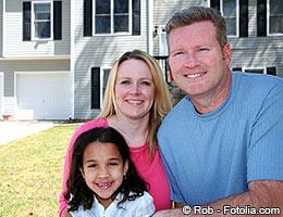 Parents with foster daughter