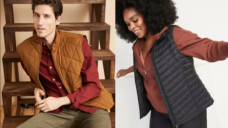 14 puffy vests for fall and winter