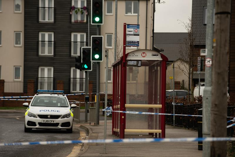 The 19-year-old woman was found unconscious at a bus stop in Leeds (Picture: SWNS)