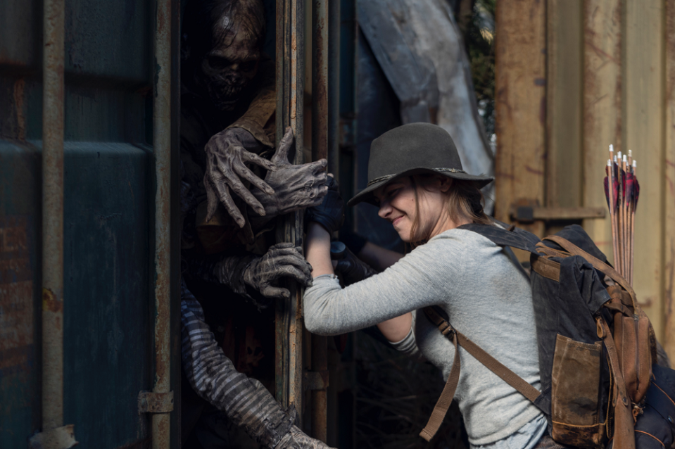 'The Walking Dead' fans couldn't help but notice how life imitated art during the Covid-19 pandemic. — Picture courtesy of Disney