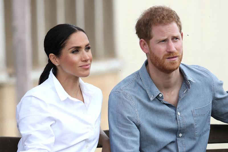 Meghan Markle has reportedly given Prince Harry an ultimatum regarding his uncle, Prince Andrew. Photo: Getty