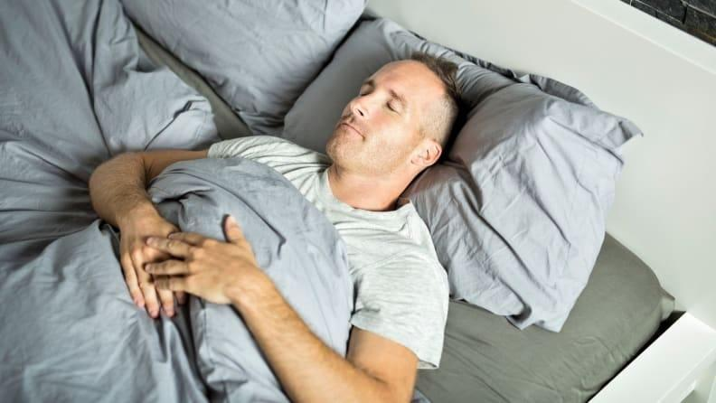 Sleeping on your back has long been thought of as the best sleep position.