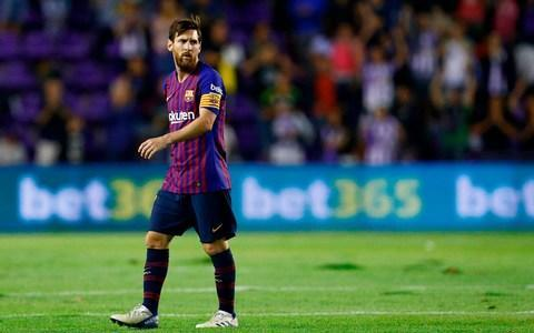<span>Lionel Messi is on top form for Barcelona already this season</span>