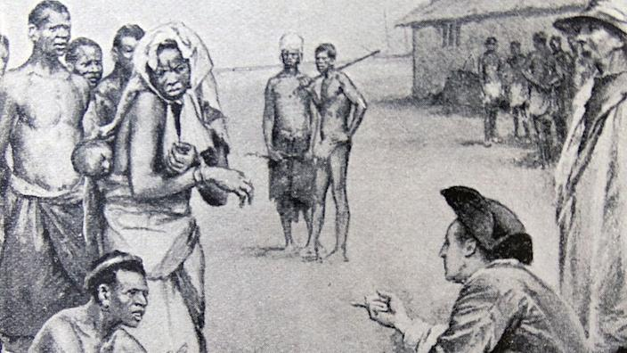 British traders were at the heart of the slave trade, before the UK government abolished the trade