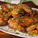 """<p>Wings that you won't be able to put down. </p><p>Get the <a href=""""https://www.delish.com/uk/cooking/recipes/a35642591/cilantro-lime-wings-recipe/"""" rel=""""nofollow noopener"""" target=""""_blank"""" data-ylk=""""slk:Coriander Lime Chicken Wings"""" class=""""link rapid-noclick-resp"""">Coriander Lime Chicken Wings</a> recipe.</p>"""