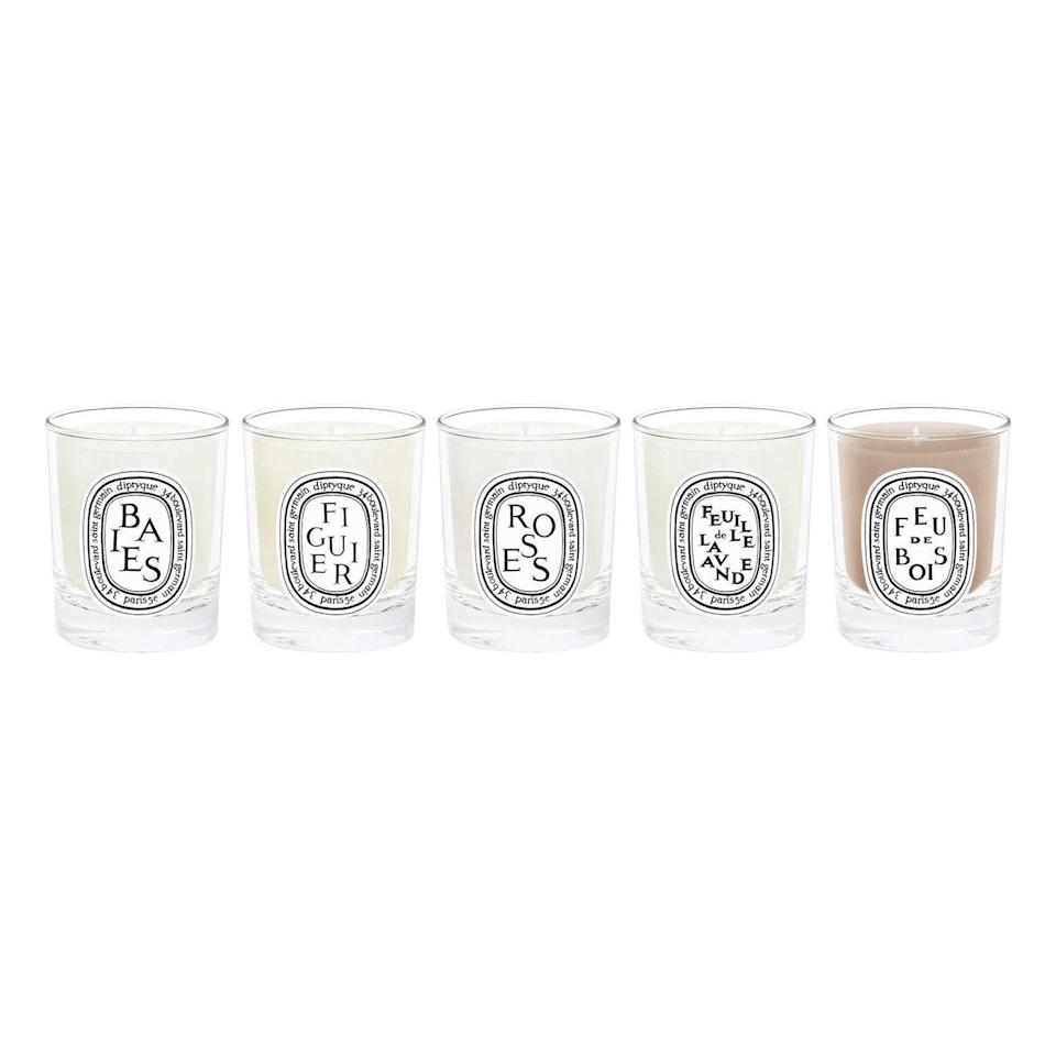 Travel Size Scented Candle Set-$82 Value DIPTYQUE