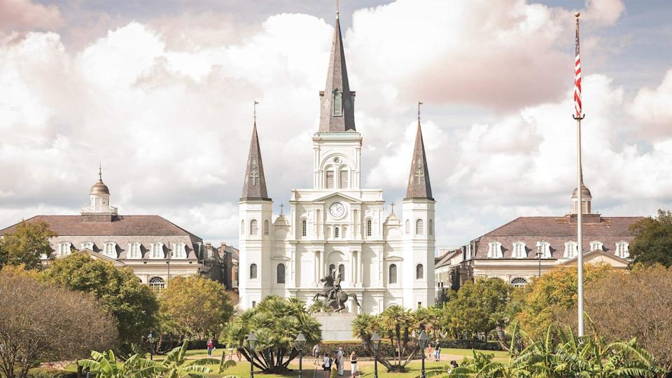 <p>If you love a little thriller in your life, you'll want to check out the <span>Scandals and Legends: Stories from the French Quarter in New Orleans</span> ($10).</p>