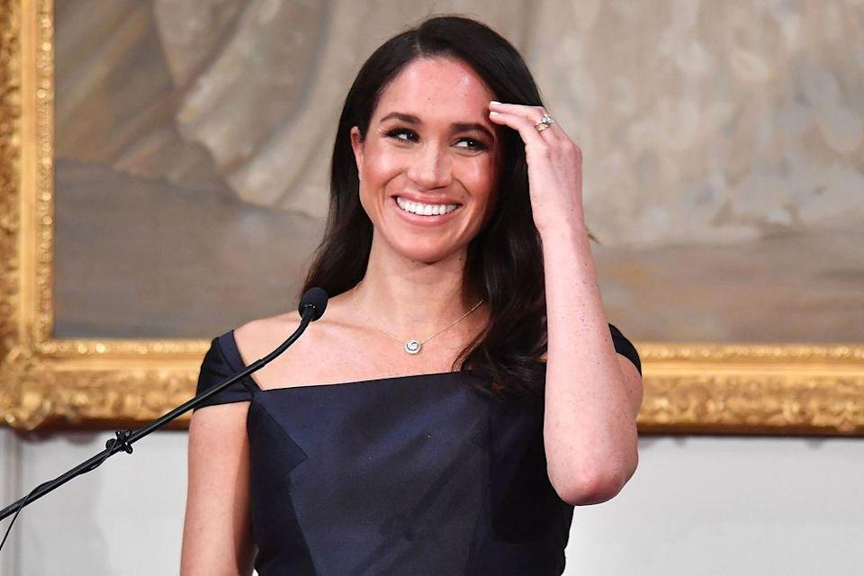 Pregnant Meghan Markle Makes Surprise Solo Appearance in London