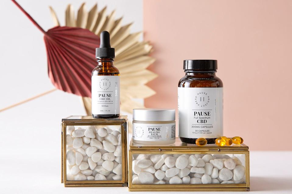 <p>The company has acquired Denver-based female CBD wellbeing brand, Press Pause</p> (Press Pause)