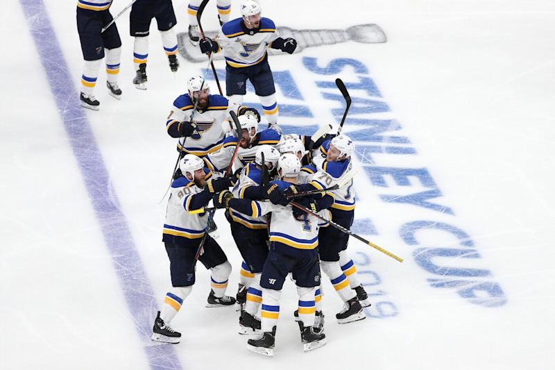 Carl Gunnarsson was the hero in Game 2. (Photo by Patrick Smith/Getty Images)