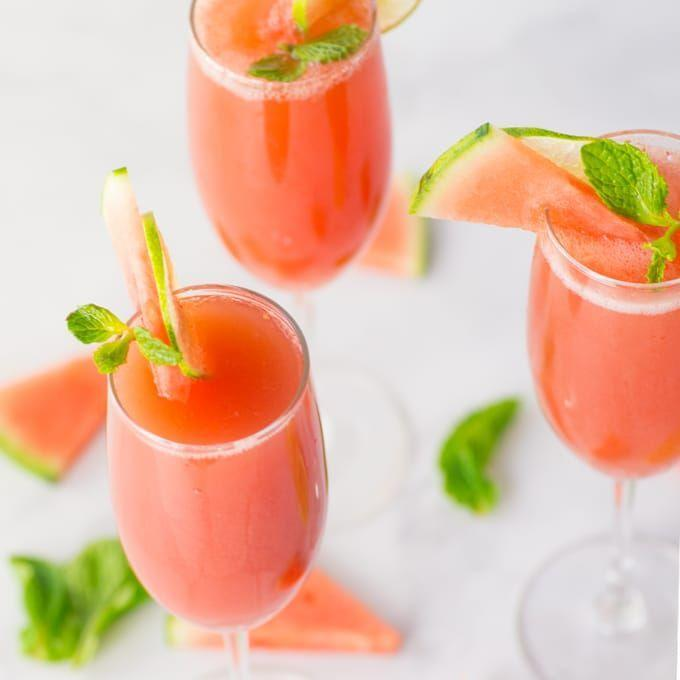 """<p>Step up your summery brunch game by serving a batch of bubbly watermelon drinks. These are irresistible.</p><p><strong>Get the recipe at <a href=""""https://mindfulavocado.com/watermelon-mint-mimosas/"""" rel=""""nofollow noopener"""" target=""""_blank"""" data-ylk=""""slk:Mindful Avocado"""" class=""""link rapid-noclick-resp"""">Mindful Avocado</a>.</strong></p><p><strong><strong><strong><strong><strong><strong><strong><a class=""""link rapid-noclick-resp"""" href=""""https://go.redirectingat.com?id=74968X1596630&url=https%3A%2F%2Fwww.walmart.com%2Fip%2FInstant-Pot-Ace-60-Cooking-Blender%2F626991948&sref=https%3A%2F%2Fwww.thepioneerwoman.com%2Ffood-cooking%2Fmeals-menus%2Fg32147587%2Fwatermelon-drink-recipes%2F"""" rel=""""nofollow noopener"""" target=""""_blank"""" data-ylk=""""slk:SHOP BLENDERS"""">SHOP BLENDERS</a></strong></strong></strong></strong></strong></strong><br></strong></p>"""