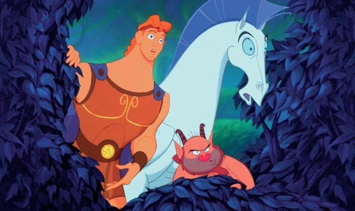 """<p>If there's a prize for rotten judgment, Disney wouldn't win it for this beloved spin on the Greek hero. With a story told by a Greek chorus in the style of Motown, Hercules was an inspired take on the mythology with great songs and memorable characters. Still, it wasn't the box office juggernaut of its animated predecessors and today is more of an """"oh, I forgot about that!"""" than a """"yaaaaassssssss!""""</p>"""