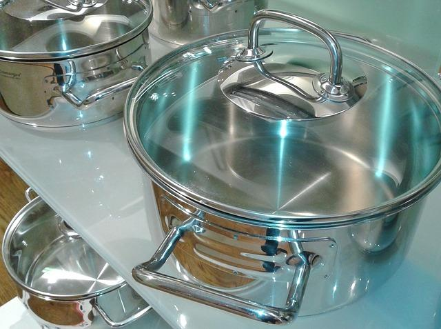 Easy to maintain, durable and easy to clean, stainless steel pots and pans are also safe options to cook food in. Stainless steel is an alloy of different metals such as iron, carbon, nickel and chromium, which when combined in the correct proportions, make the metal stronger and more durable. You need to, however, be careful about the amount of nickel and chromium in the composition as stainless steel cookware is sometimes polished with the metals to add shine, and the high amounts can leach into the food. While selecting stainless steel cookware, opt for those with a 304 grade. This means that it is comprised of not more than 0.8 per cent carbon and at least 50 per cent iron. You can also choose an 18/10 composition, with 18 per cent referring to chromium and 10 per cent to nickel. It is also best to replace any pan which has deep scratches in it as this can cause the metals to leach into your food.