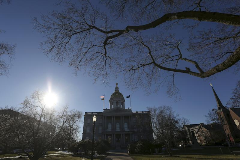 The New Hampshire State House is pictured in Concord, New Hampshire