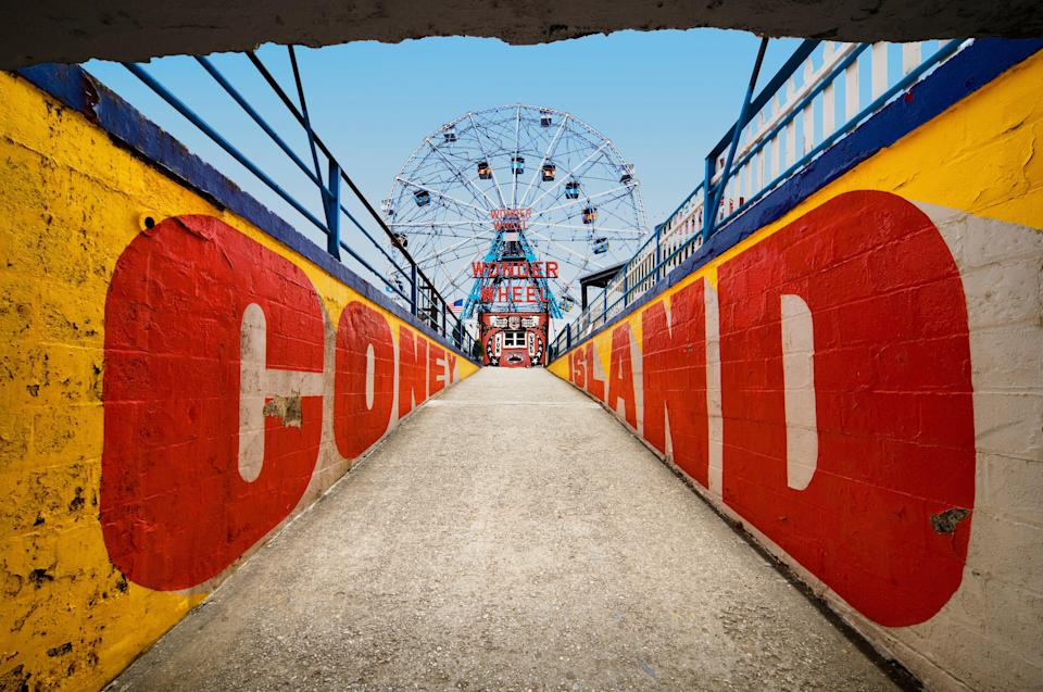 """<p><strong>Tell me: What's this place all about?</strong><br> Coney Island is a residential neighborhood that transforms into an amusement park-like free entertainment hub roughly between Easter and Halloween.</p> <p><strong>What's it like being there?</strong><br> Child-like excitement.</p> <p><strong>Who comes here?</strong><br> Locals and tourists hang out on the beach, eat ice cream cones on the promenade, and stand in line for the famed <a href=""""https://www.cntraveler.com/activities/luna-park?mbid=synd_yahoo_rss"""" rel=""""nofollow noopener"""" target=""""_blank"""" data-ylk=""""slk:Cyclone roller coaster"""" class=""""link rapid-noclick-resp"""">Cyclone roller coaster</a>.</p> <p><strong>Did it meet expectations?</strong><br> Coney Island has a reputation as a circus-worthy tourist trap, which is exactly what it is. But you may be surprised by the old-timey charms of this beachfront American town. You'll definitely be impressed by the food and drinks—Totonno's Pizza, Gargiulo's and Coney Island Brewery, in particular.</p> <p><strong>So, then, what, or who, do you think it's best for?</strong><br> If you've ever wanted to participate in a mermaid parade or a July 4th hot-dog-eating contest, Coney Island is your spot.</p>"""