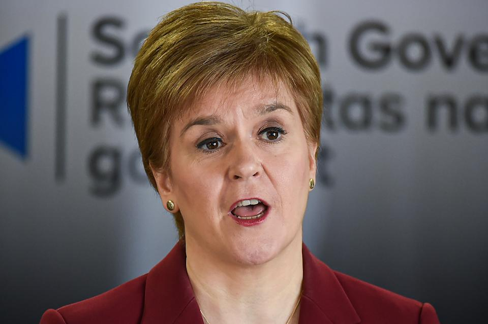First Minister Nicola Sturgeon wants to try to restore a sense of normality (Jeff J Mitchell/PA)