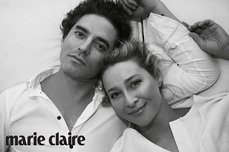 Asher Keddie and husband Vincent Fantauzzo