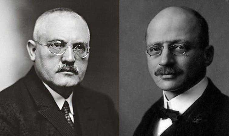 Photos of Carl Bosch and Fritz Haber