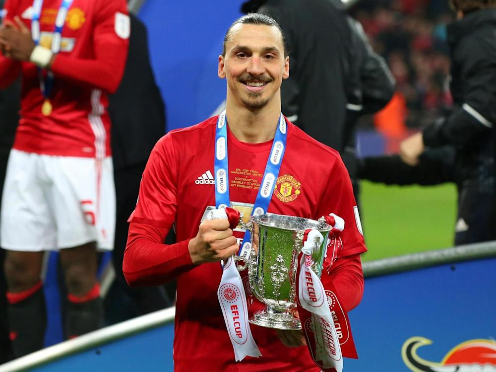 Ibrahimovic has 32 trophies in his career so far (Getty)