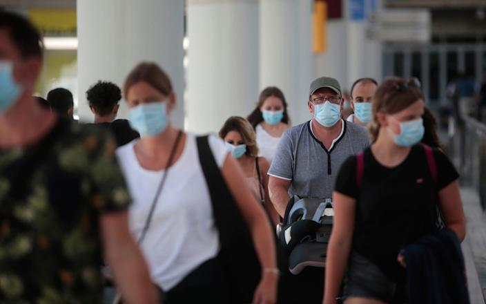 Quarantine was imposed with just a few hours' notice - AP