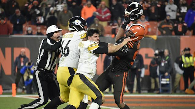 Mason Rudolph, who escaped suspension, was slapped with the largest sum as 33 players were fined by the NFL on Saturday.