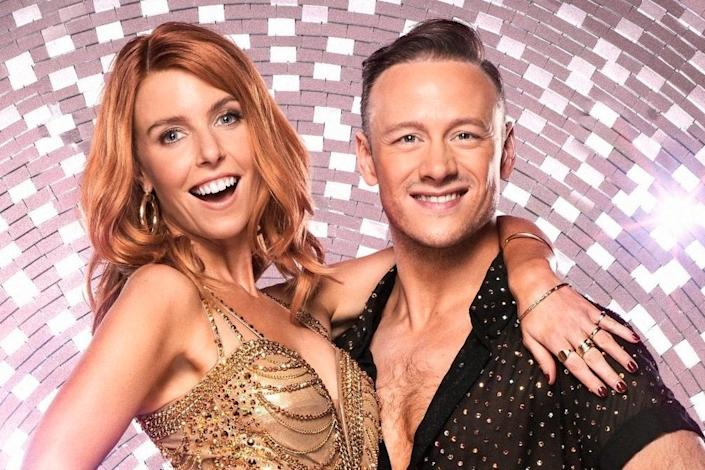 Dooley and Clifton won Strictly Come Dancing last year: BBC