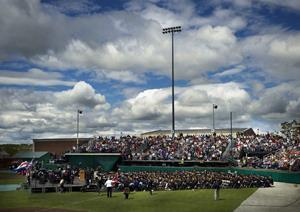 The Husson University Commencement ceremony for graduate students will take place outdoors at 10 a.m. on Saturday, May 8, 2021 at the Winkin Sports Complex on the University's Bangor campus. Sawyer will receive his honorary doctorate of business administration as part of this event. Honorary degrees are the highest honor Husson University can bestow.