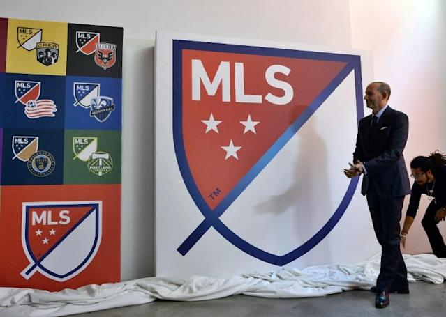 Major League Soccer teams can resume small-group training as the league edges towards a return from the coronavirus shutdown (AFP Photo/Jewel SAMAD)