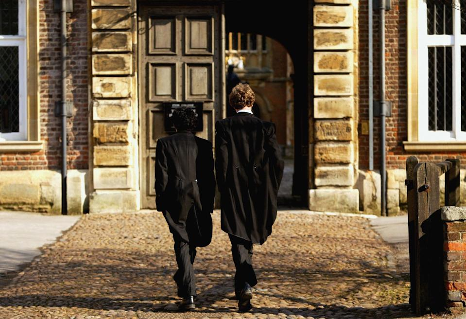<p>According to the analysis Eton College was at the top of the list with 47 staff earning over £100,000</p> (Getty)