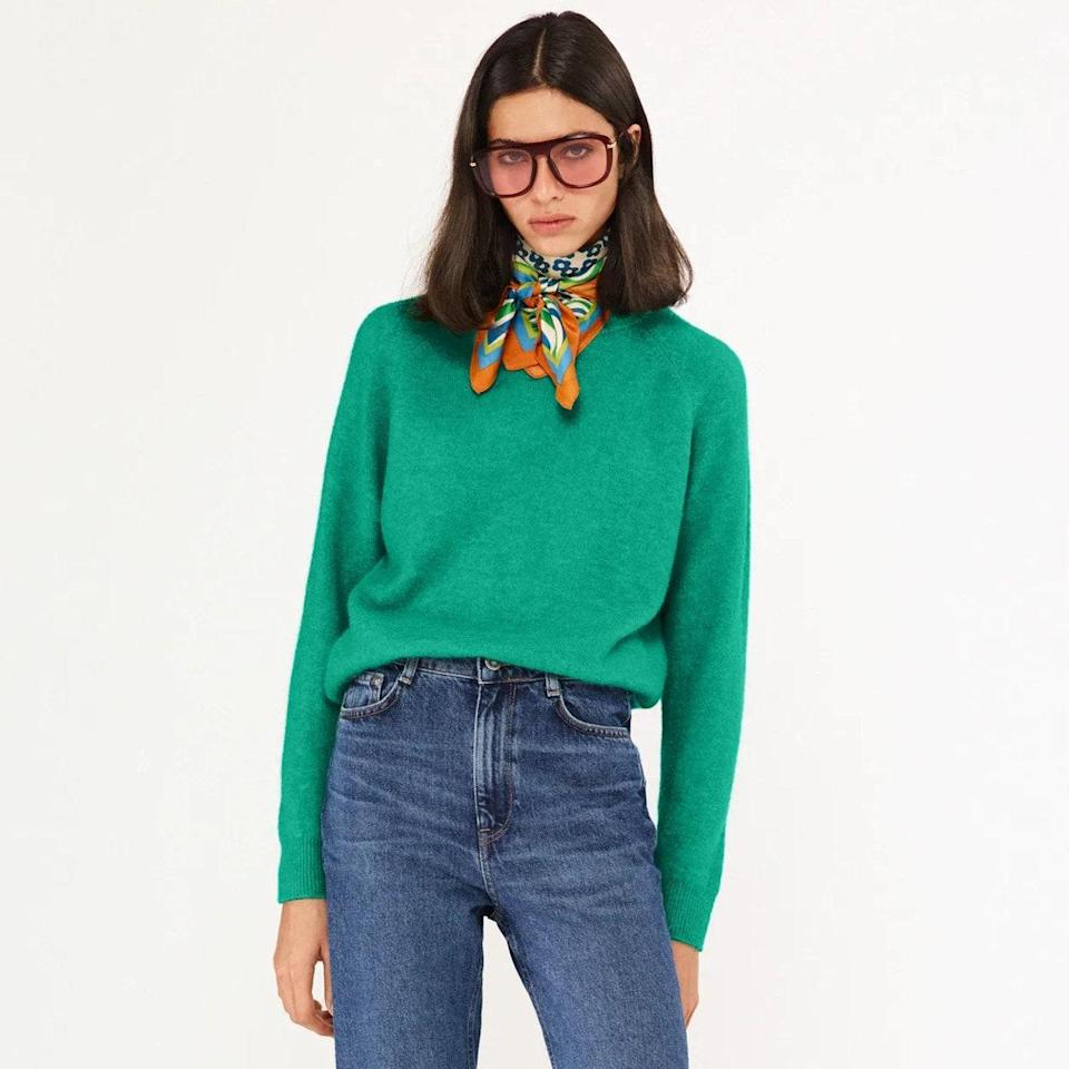"""Some may say broccoli is our secret aesthetic…and they wouldn't be wrong. $50, Zara. <a href=""""https://www.zara.com/us/en/alpaca-and-wool-blend-sweater-p09598129.html?v1=111505171&v2=1882810"""" rel=""""nofollow noopener"""" target=""""_blank"""" data-ylk=""""slk:Get it now!"""" class=""""link rapid-noclick-resp"""">Get it now!</a>"""