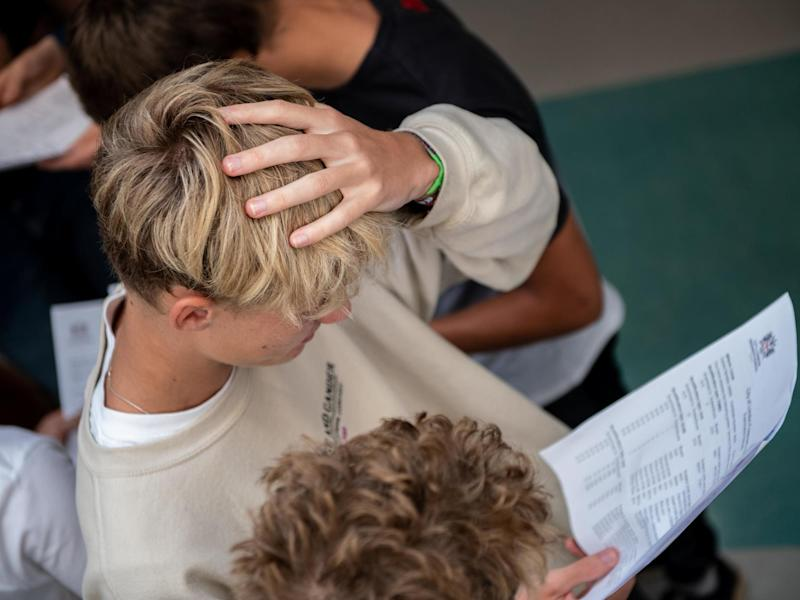 A similar or greater number of GCSE results could be downgraded by Ofqual, researchers have warned: Getty Images