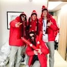 <p>Dimitri Isler Switzerland, freestyle skiing<br>sir_dimitri_isler: We are always giving our best to shine on and off the slope! (Photo via Instagram/sir_dimitri_isler) </p>