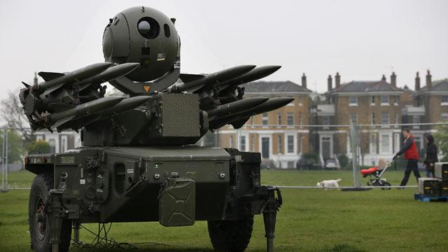 UK Places Anti-Aircraft Missiles Atop Homes As Summer Olympics Near