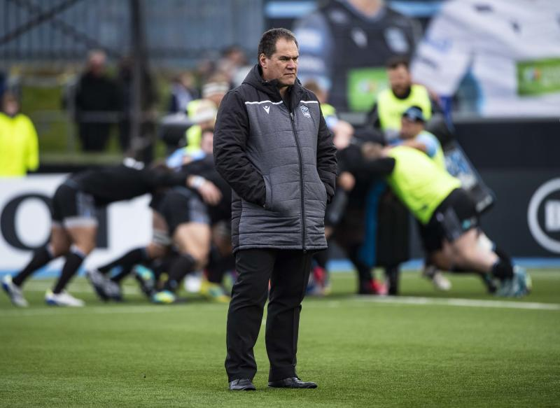 Glasgow Warriors head coach Dave Rennie ahead of the European Rugby Champions Cup match between Glasgow Warriors and Sale Sharks, at Scotstoun Stadium, on November 16, 2019, in Glasgow, Scotland.