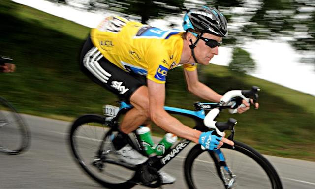 "<span class=""element-image__caption"">The contents of a package delivered to Bradley Wiggins at the Critérium du Dauphiné in 2011 was the focus of an investigation by the UK Anti-Doping Agency.</span> <span class=""element-image__credit"">Photograph: Agence Zoom/Getty Images</span>"