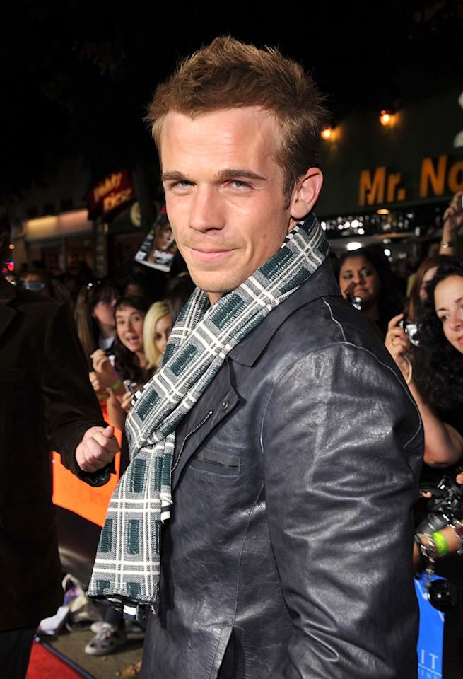 """<a href=""""http://movies.yahoo.com/movie/contributor/1809903022"""">Cam Gigandet</a> at the Westwood premiere of <a href=""""http://movies.yahoo.com/movie/1810010670/info"""">Twilight</a> - 11/17/2008"""